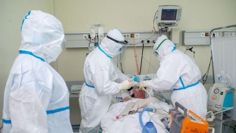Peste 4.000 de cazuri active în Moldova: Câți pacienți sunt intubați
