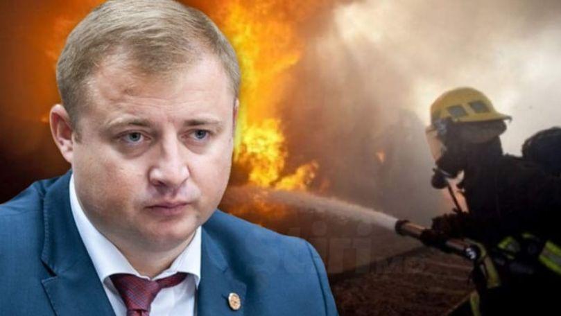 Surse: Sauna din Dumbrava a lui Cavcaliuc a ars. Ex-șeful IGP: Bârfe