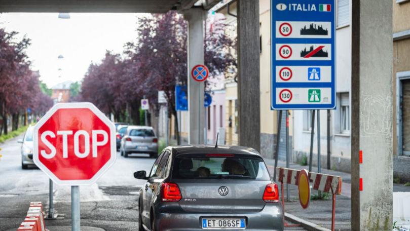 Italia impune lockdown: Oamenii din 4 regiuni nu pot ieși din case