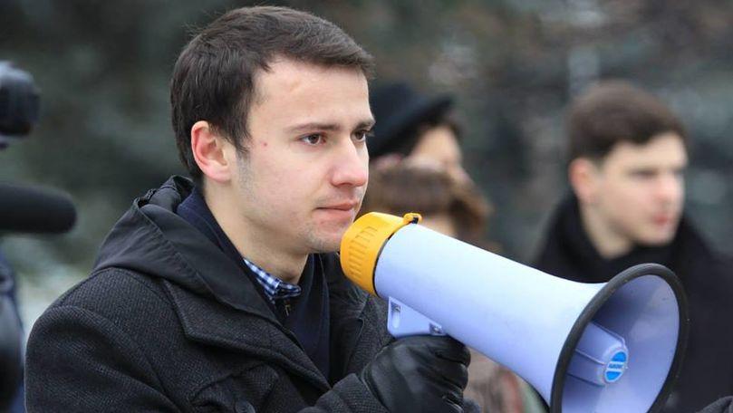 Candidat al blocului ACUM, bătut în fața Inspectoratului de Poliție Edineț