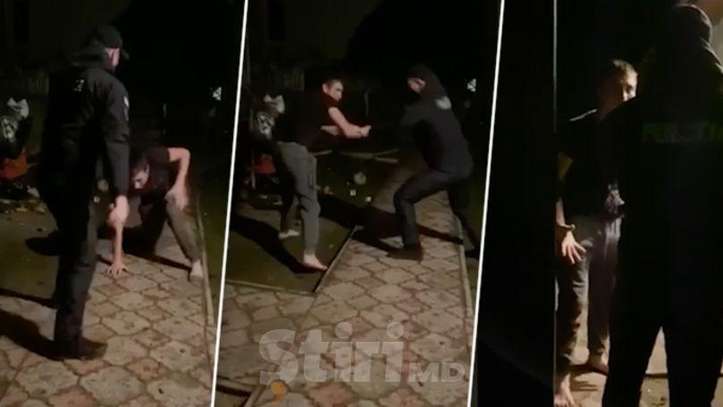 Un polițist din Călărași, bătut și amenințat cu moartea de un tânăr beat