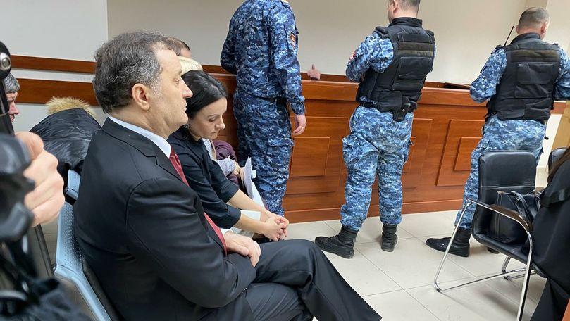 Ședința de judecată în cazul Filat, întreruptă din cauza unui scandal