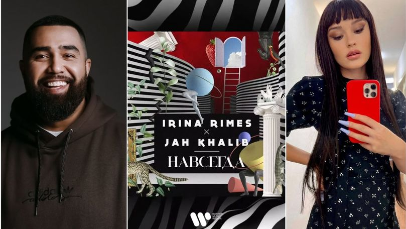 Irina Rimes și Jah Khalib au lansat piesa: Să fie hit mare!