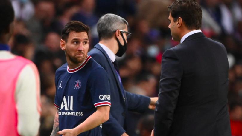 Un nou meci slab pentru Messi la PSG: A ieșit furios de pe teren
