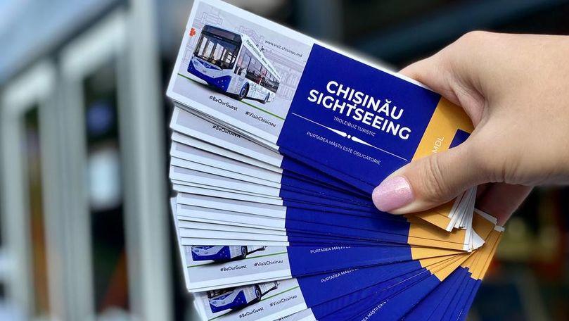 Troleibuzul turistic va circula pe străzile Capitalei: Prețul călătoriei