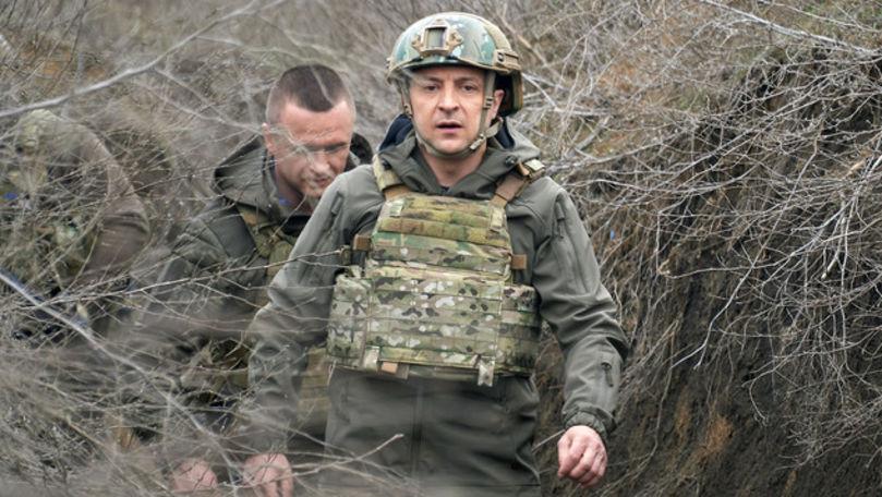 Tensiune în Ucraina: Zelenski a semnat pentru convocarea rezerviștilor