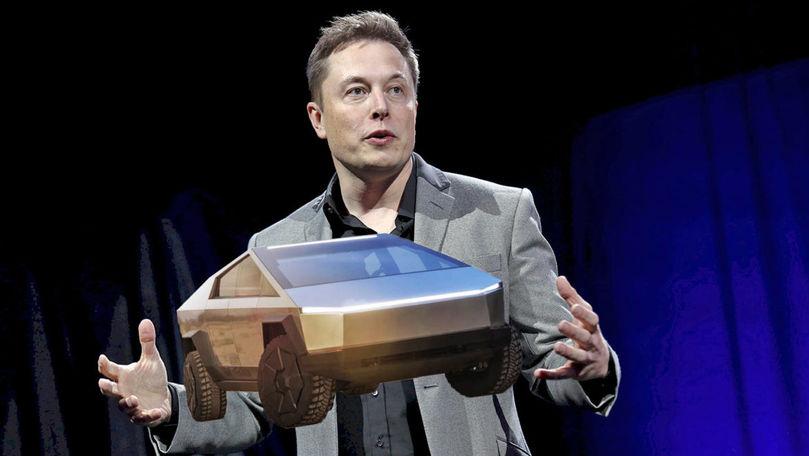 Cum arată noul design al interfeței Cybertruck-ului de la Tesla
