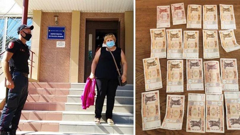 Cum și-a recuperat o femeie banii pierduți pe un drum la Căușeni