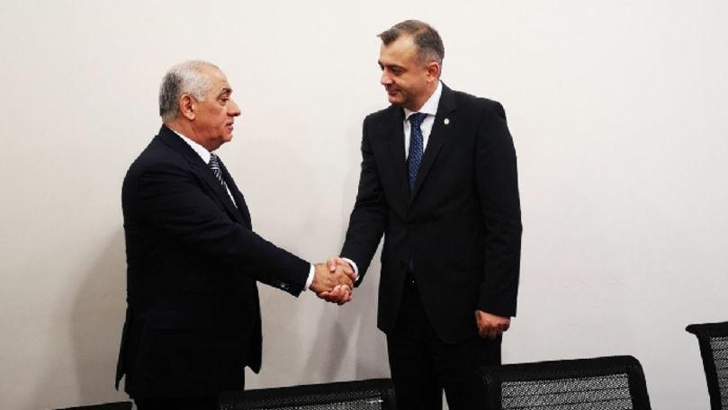 Ion Chicu s-a întâlnit cu omologul său din Azerbaidjan. Despre ce au discutat