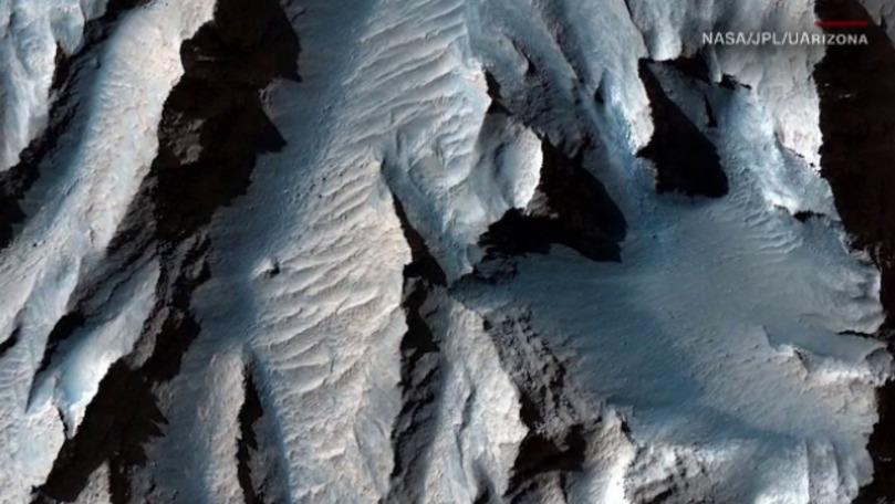 Imagini spectaculoase cu planeta Marte, oferite de NASA