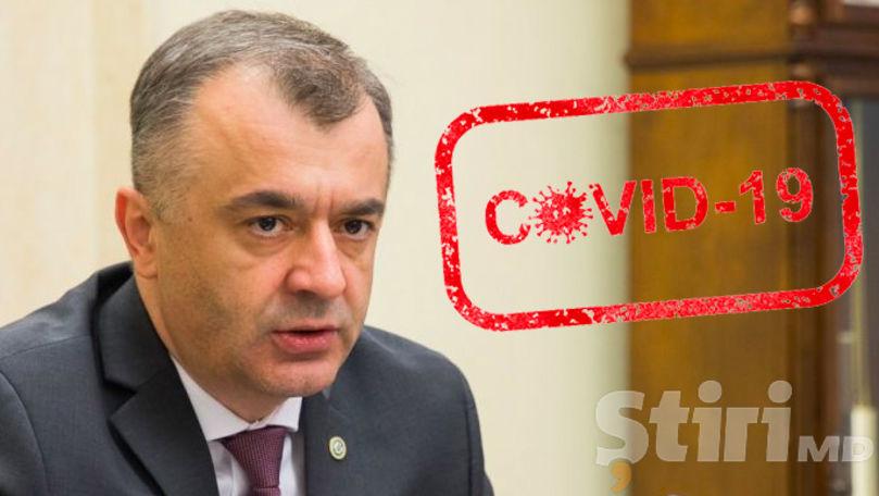 Prim-ministrul Ion Chicu, infectat cu coronavirus