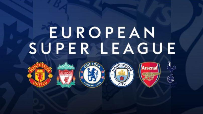 Super Liga a fost lansată oficial de 12 cluburi: UEFA promite o replică