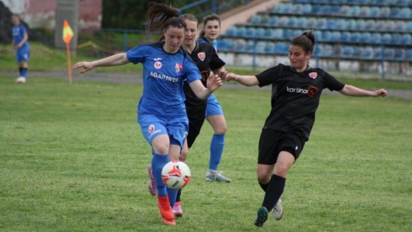 Agarista CSF Anenii Noi a devenit campioană națională la fotbal feminin