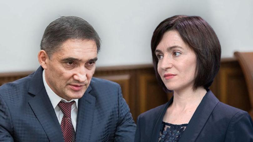 Sandu îi propune lui Stoianoglo ajutor în investigarea fraudei bancare