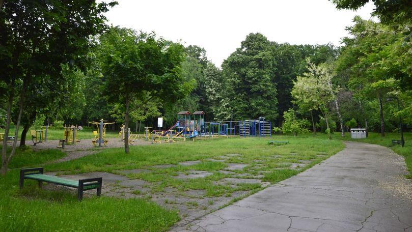 O zonă pentru sport în aer liber va apărea în parcul Valea Trandafirilor