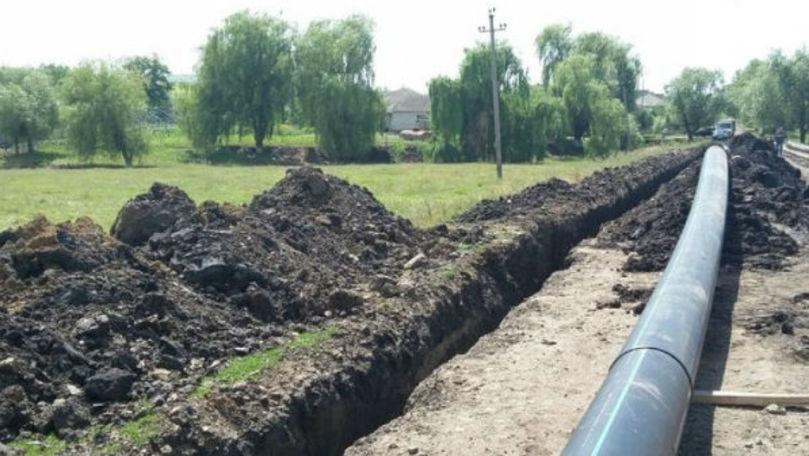Apă potabilă la robinet pentru locuitorii din satul Băhrinești