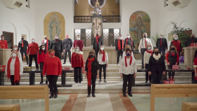 Colind, interpretat de un cor din Spania: Moldova, Crăciun fericit!