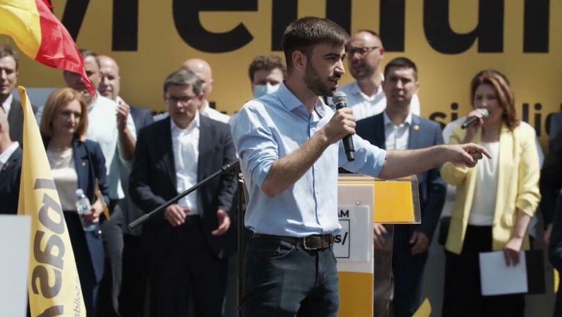 Eugeniu Sinchevici, student în Franța și deputat în Moldova: Voi învăța online