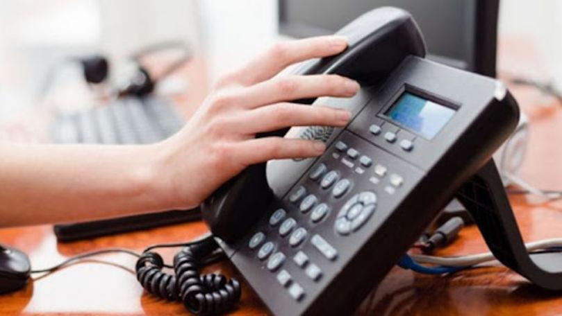 Venitul serviciilor de telefonie fixă a scăzut cu încă 12,5% în Moldova