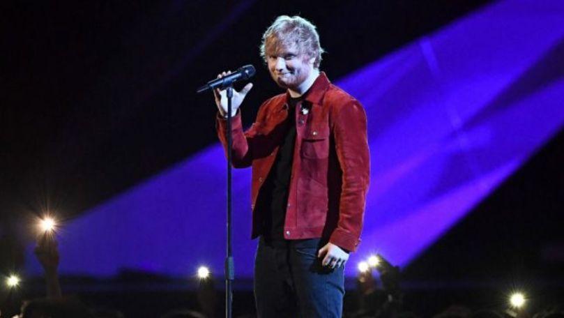 Cântăreţul Ed Sheeran recunoaşte că fiica lui nu este un fan al muzicii sale