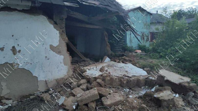Peretele unei case părăsite din Râbnița s-a prăbușit peste un copil