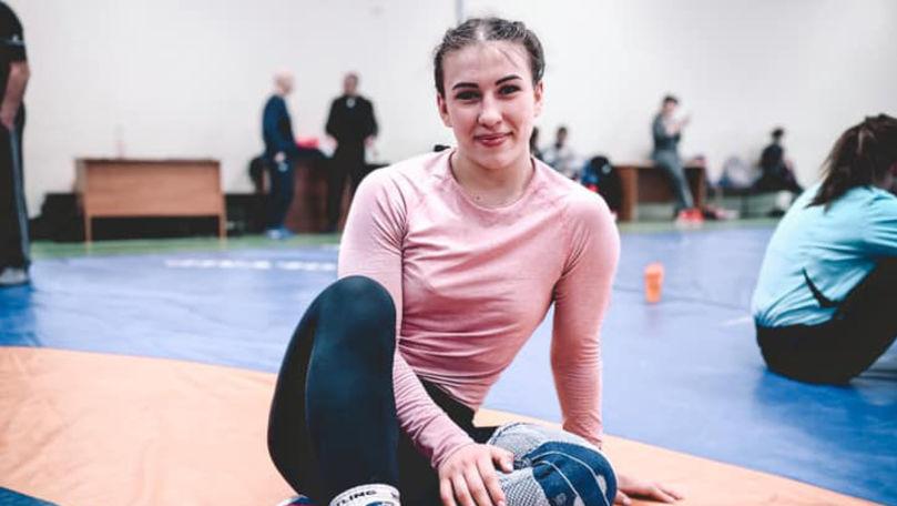 Irina Rîngaci a luat aurul la Europenele de lupte: Am plâns de fericire