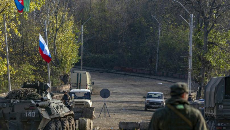 Nagorno-Karabah: Rusia își consolidează prezența militară în Armenia