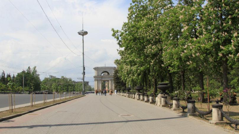 Chișinăul, de sărbători: Străzi pustii, piețe goale și minimum transport