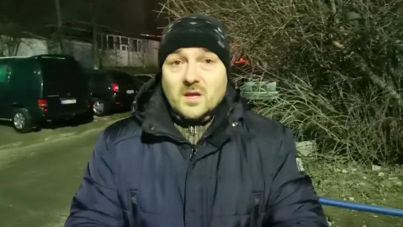 Caz strigător la cer la Durlești: Un bărbat stă cu mama moartă la balcon