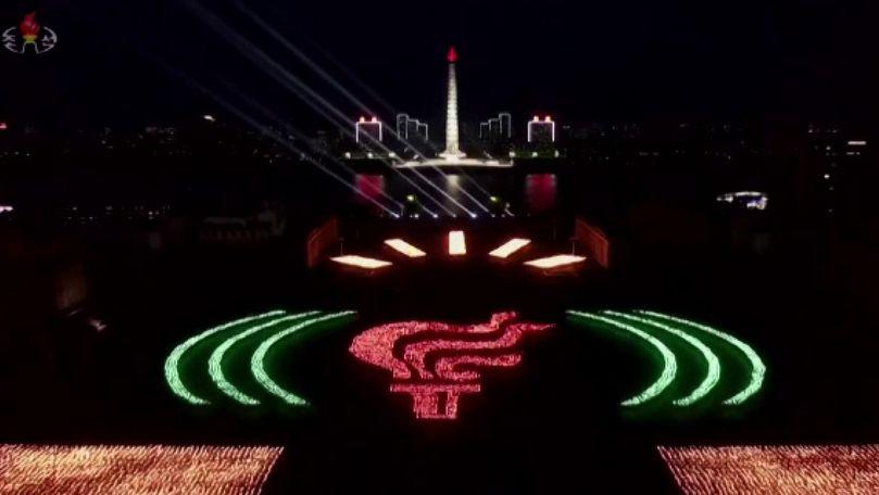 Paradă spectaculoasă la Phenian: Ce a sărbătorit Coreea de Nord