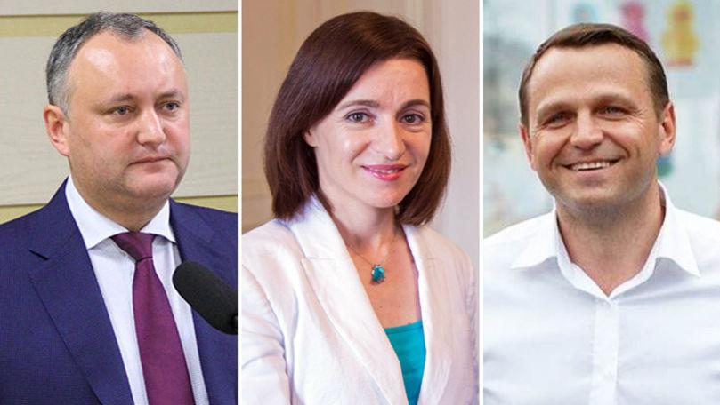 Sondaj: Cine sunt politicienii în care moldovenii au cea mai mare încredere