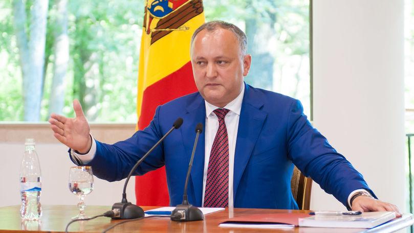 Dodon: Vom veni cu noi propuneri în susținerea agenților economici