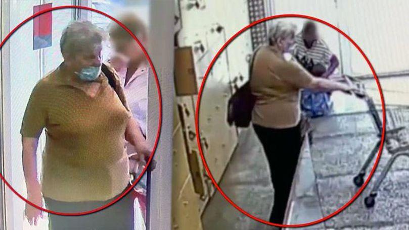 O femeie, căutată de polițiști după ce ar fi furat o geantă în Capitală