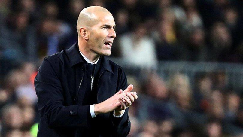 Performanță de excepție pentru Zinedine Zidane după victoria din El Clasico