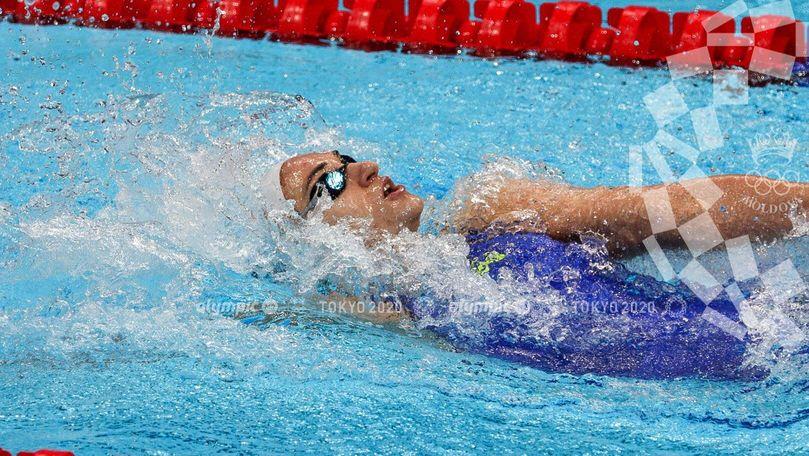 Înotătoarea Tatiana Salcuțan s-a calificat în semifinale la JO