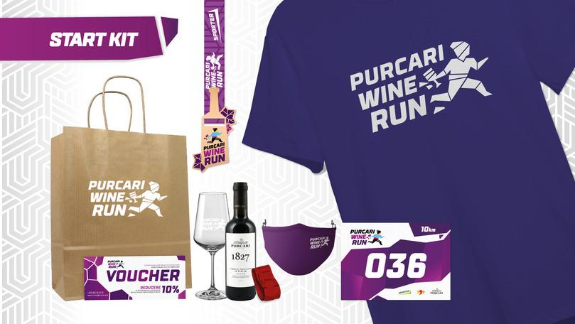 Purcari Wine Run 2021: Cum să obții kitul de start al participantului Ⓟ
