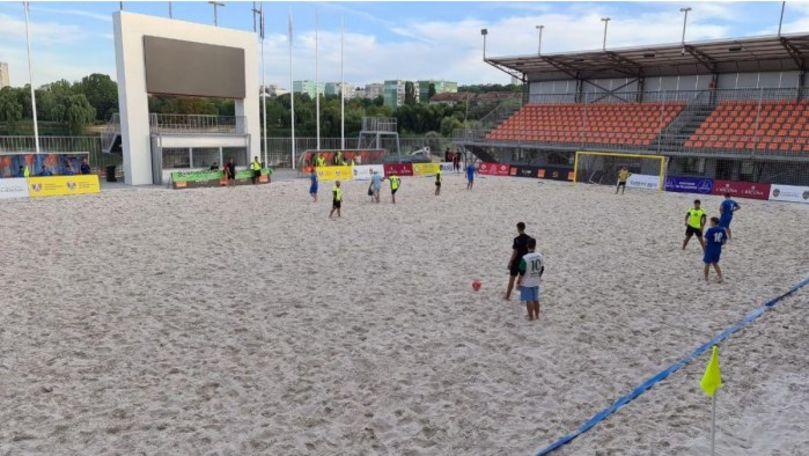 R. Moldova va găzdui Campionatul European la fotbal pe plajă: Programul meciurilor