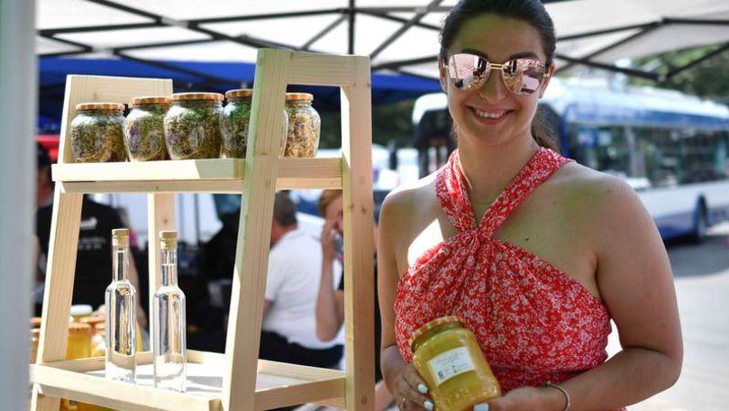 Timp de 3 zile în centrul Capitalei va activa un târg al mierii