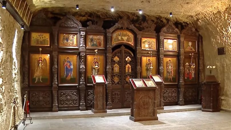 Fake news: O biserică subterană de 6 secole, descoperită în beciurile de la Cricova