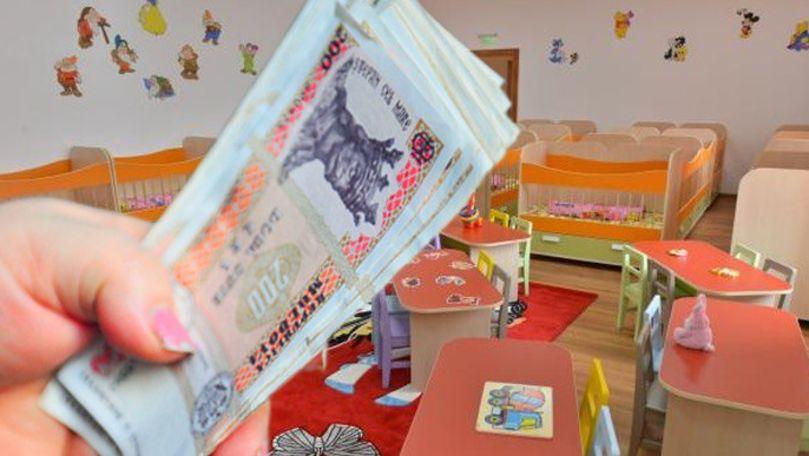 Părinți, obligați să dea bani la grădinițe. Mesaje cu sumele primite