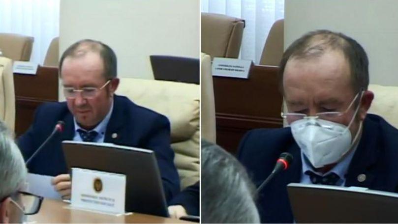Gavrilița, observație către ministrul Agriculturii: Masca, vă rog