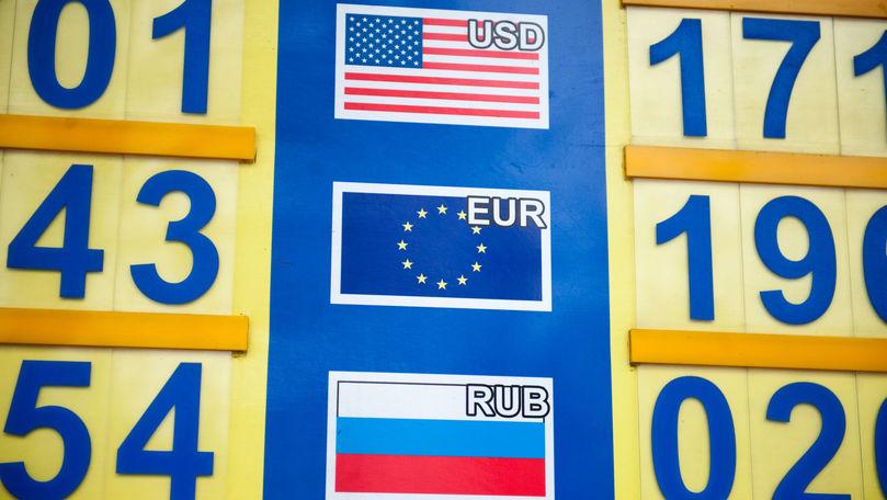 Curs valutar 19 septembrie 2021: Cât valorează un euro și un dolar