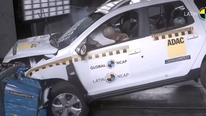 Renault Duster produs în Brazilia a obținut zero stele la teste NCAP