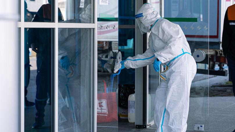 Un singur lucrător medical, diagnosticat cu COVID în ultimele 24 de ore