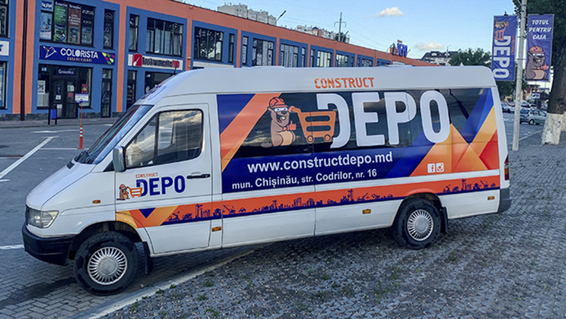 Depo Construct: În Chișinău circulă transport gratuit Ⓟ
