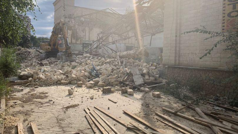 Ceban, revoltat: Cinematograful Gaudeamus, demolat ilegal. Să fie convocat CMC