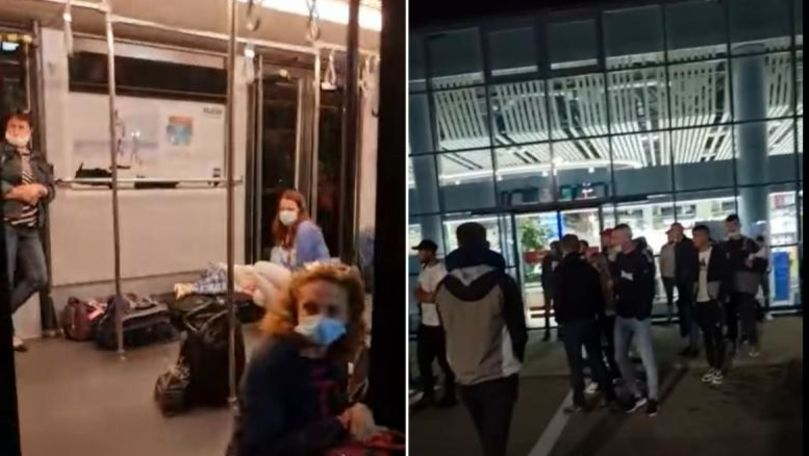 Pasagerii zborului Chișinău-Dublin, fără cursă: Ne țin afară ca pe câini