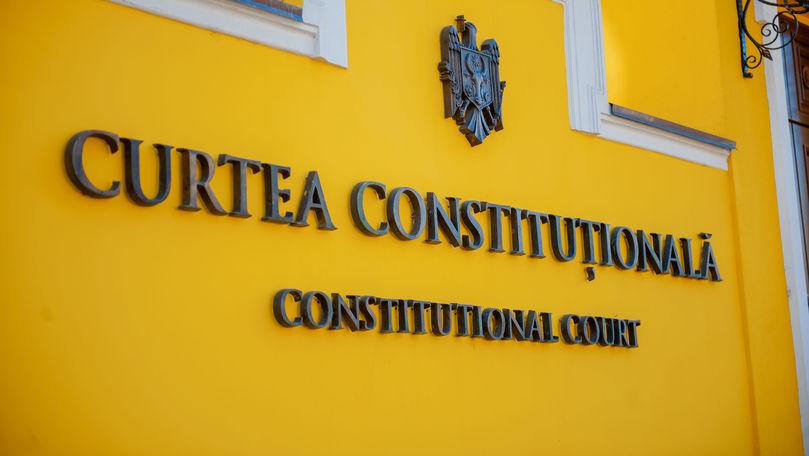 CC: Abrogarea legii miliardului de PSRM-ȘOR este neconstituțională