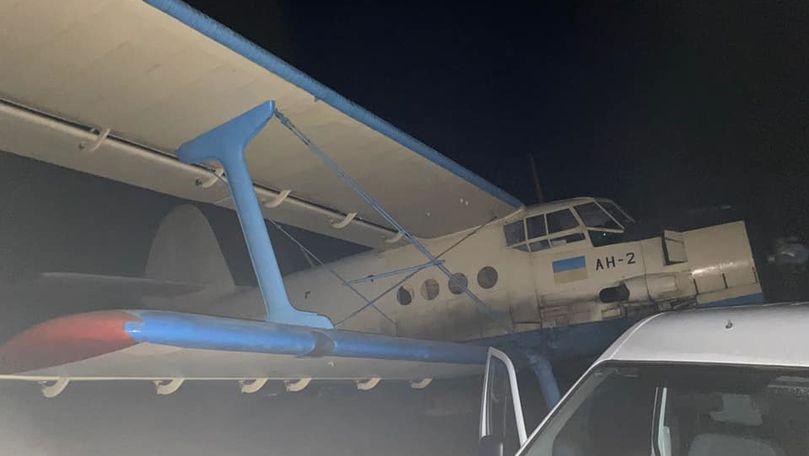 Avion pentru țigări de contrabandă, găsit la Edineț: Sunt 3 reținuți