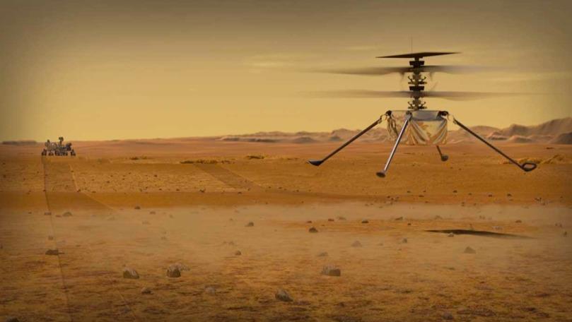 Misiunea elicopterului Ingenuity trimis de NASA pe Marte, prelungită